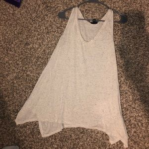 Flowy speckled tank top